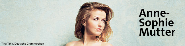 Anne-Sophie Mutter Header