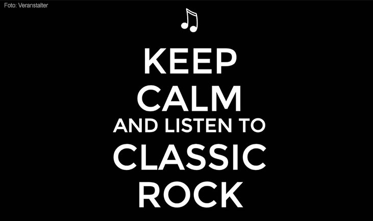 Keep Calm and listen to classic rock