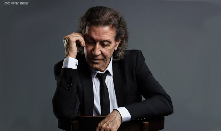 Albert Hammond im Portrait