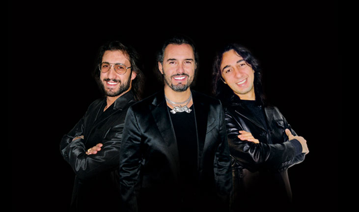 MASSACHUSETTS Das BEE GEES Musical Music Performed by THE ITALIAN BEE GEES Gruppenfoto