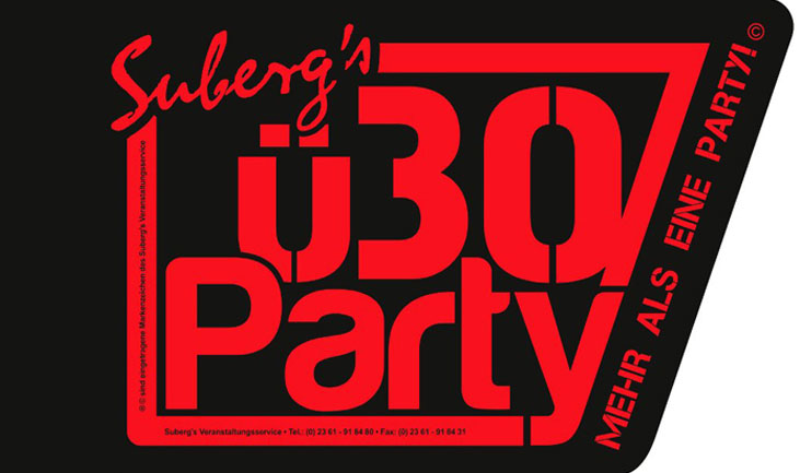 Logo Suberg´s ü30 Party