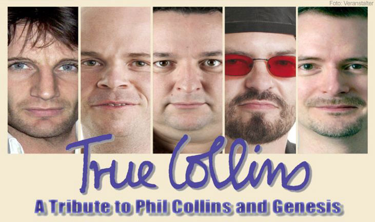 TRUE COLLINS – Best of Phil Collins & Genesis - Plakatmotiv